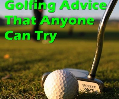 Golfing Advice That Anyone Can Try. Collection of golf tips, and instructions