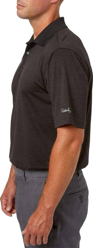 Walter Hagen essentials golf shirts. Walter Hagen Men's Core Space Dye Golf Polo
