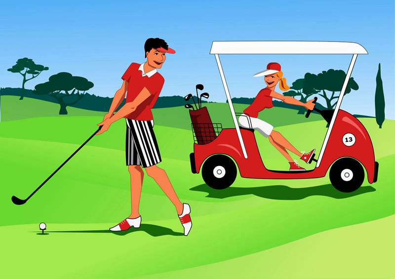 Golf also requires you to develop good coordination and other psychological abilities, besides using your entire body.