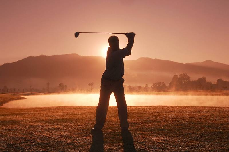 Golf lessons . Make sure you get a light grip on the golf club as opposed to a tight grip. By holding the club too tight, your shot will be a feeble one that pieces.