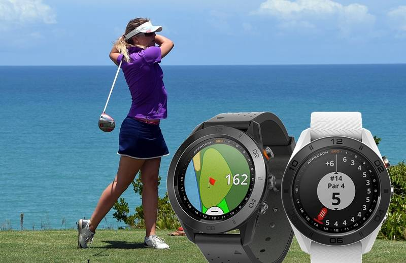 Best golf GPS watch. Garmin Approach S60 will allow you to get accurate results every single time. With a range of different sensors, the Garmin Approach S60 will be able to let you know exactly how far away hazards and the hole are, even if they are obscured.