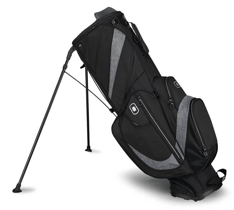 OGIO 2018 Shredder Stand Bag. Everyone knows that when everything is set in your golf bag that's when you will need to be comfortable carrying it out.