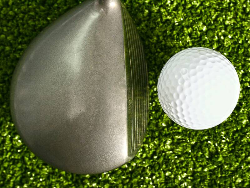 Golf clubs. You usually use woods when you aim more on distance than on precision.