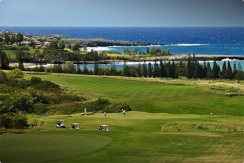 Maui Golf. The PGA-famous Plantation Course consistently ranks among the top 5 in Hawaii.