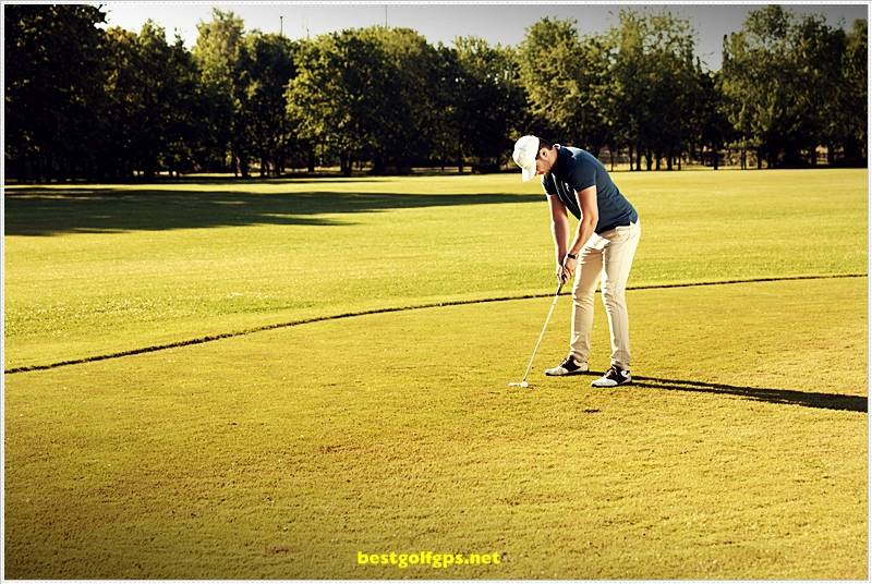 Best Golf Swing. Like most good players, you need to practice and have proper alignment when addressing the ball.  #golfswing