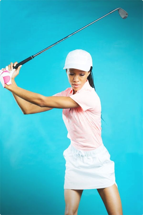 Consistent Golf Swing. Golfers take a lot of pride in their golf swings. It is a great way to tell whether or not you have the fundamentals of the sport down.  #golfswing